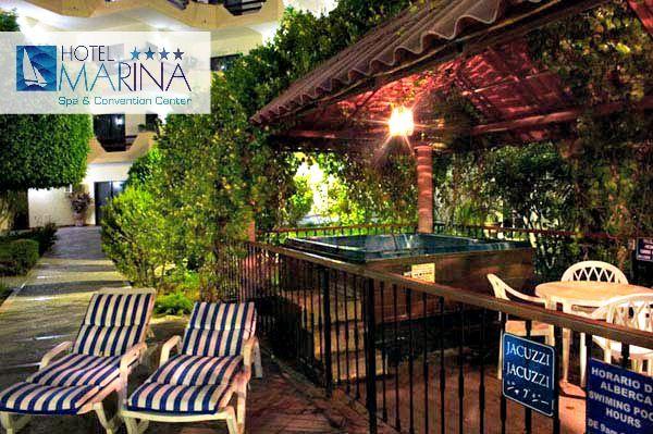 Jacuzzi exterior techado #hotelmarina Hotel Marina Pinterest