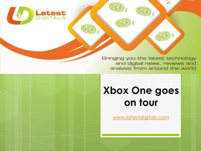 Xbox one goes on tour