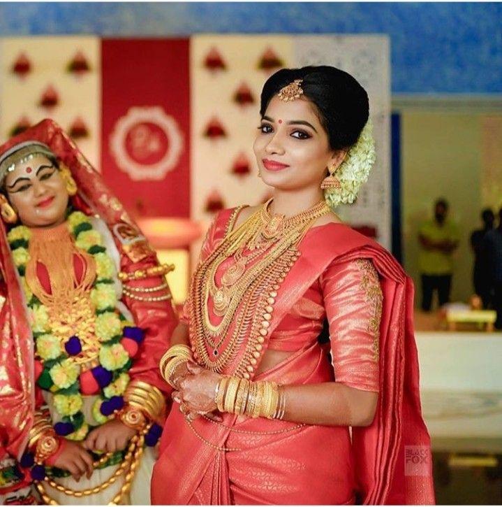 Bridal Look By Aswany Mohan