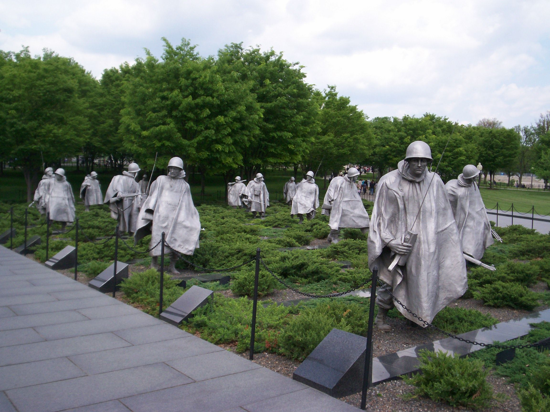 Washington Dc Korean War Veterans Memorial Travel Pinterest