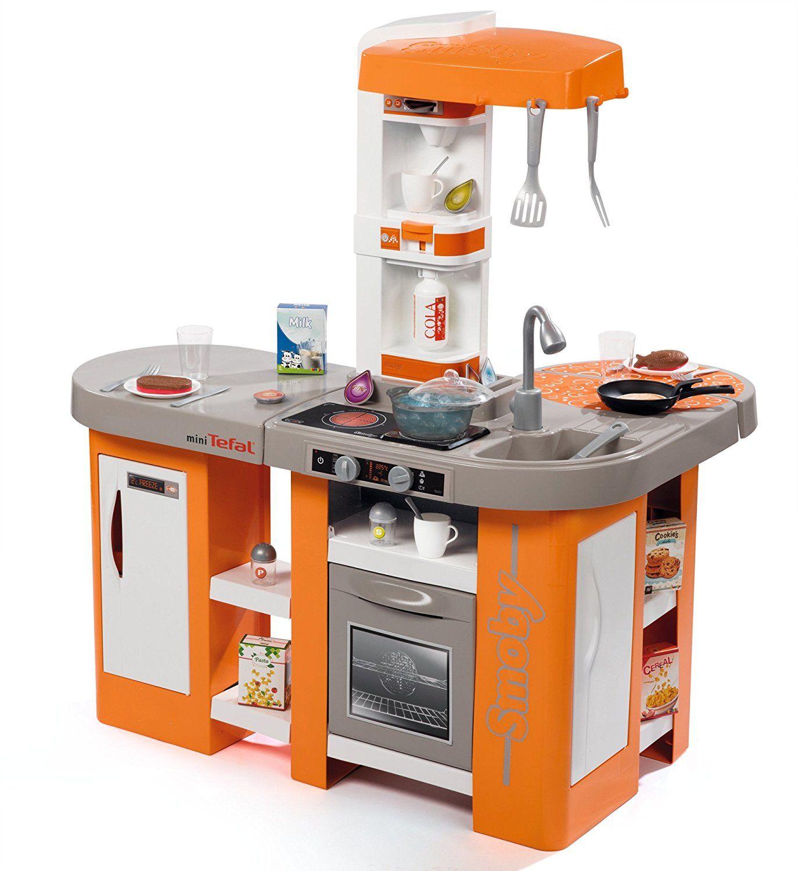 Mini Tefal Electronic Küche smoby Kinder Spielküche Zubehör Kinderküche 24446 Spielküchen