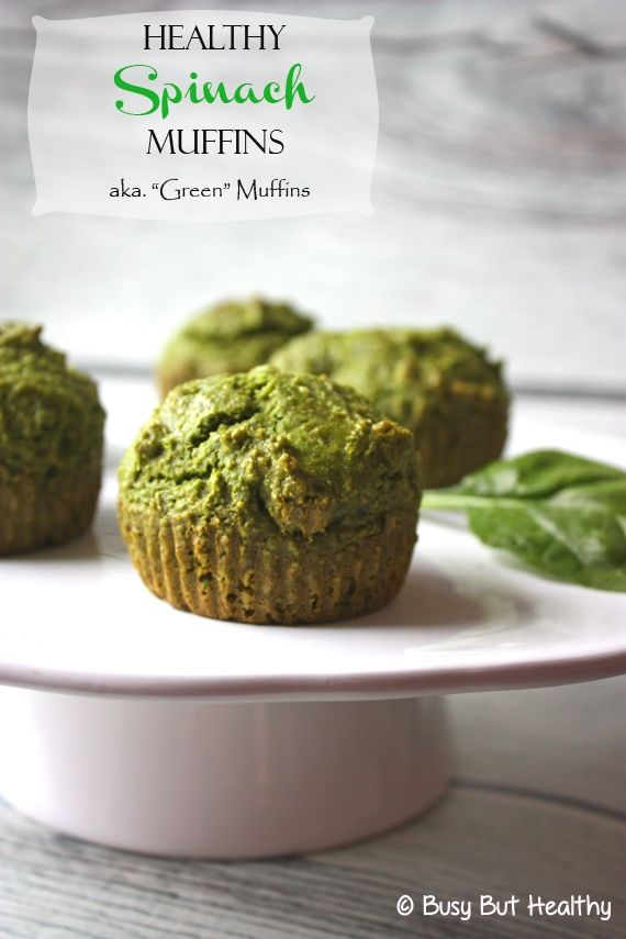 Spinach Muffins - Busy But Healthy