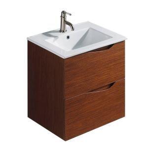 Vigo Suzetta 24 Insingle Bathroom Vanity In Wenge With Top Amazing White Bathroom Vanity Home Depot Inspiration Design