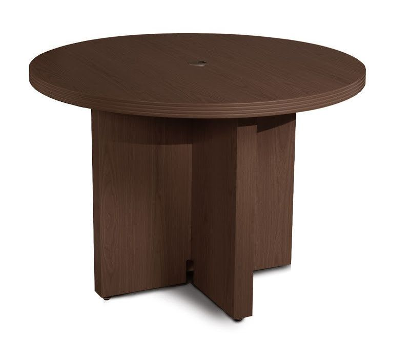 Aberdeen Circular H X W X L Conference Table School - Round conference table for 6