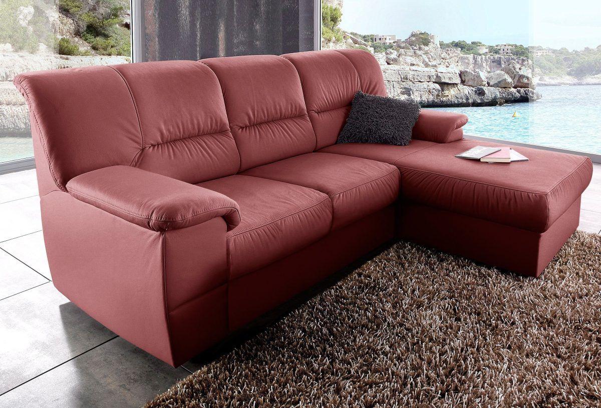 Wohnzimmer Garnituren ~ Sit&more polstergarnitur rot recamiere rechts fsc® zertifiziert