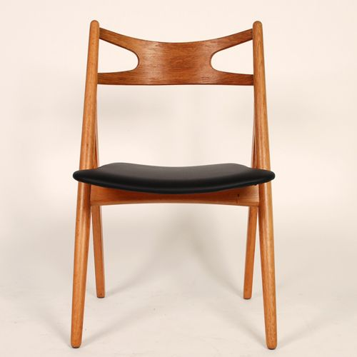 Hans J. Wegner savbukke stol Model CH29