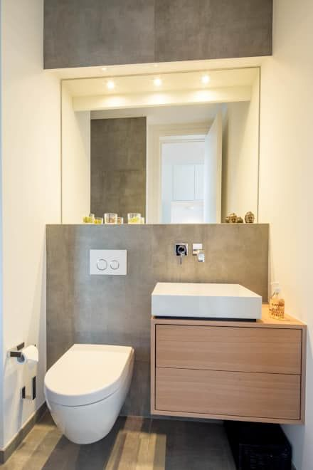 Wohnideen Interior Design Einrichtungsideen Bilder In 2020 Badezimmer Gaste Wc Modern Und Toilette Renovieren