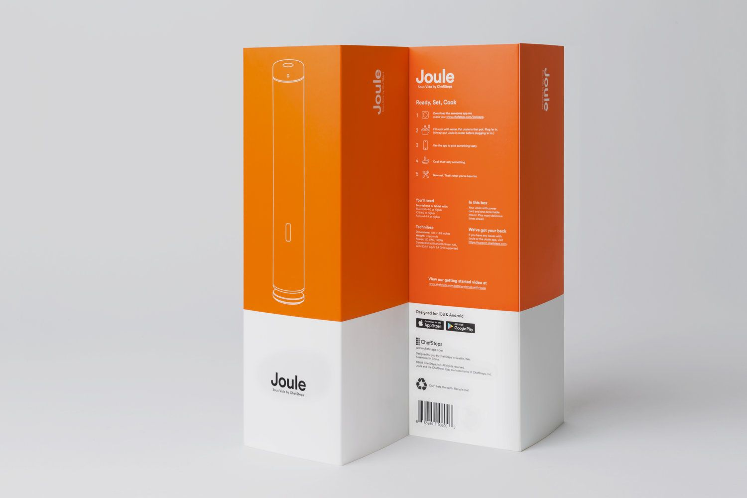 The Dieline Awards 2017: Joule: Sous Vide by ChefSteps — The Dieline | Packaging & Branding Design & Innovation News