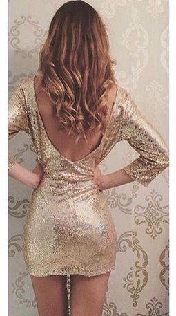 Little Gold Dress