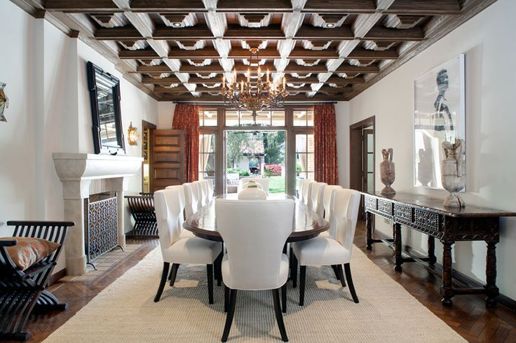 Pin By Marle À« On Interior Design Colonial Dining Room Spanish Dining Room Stylish Dining Room