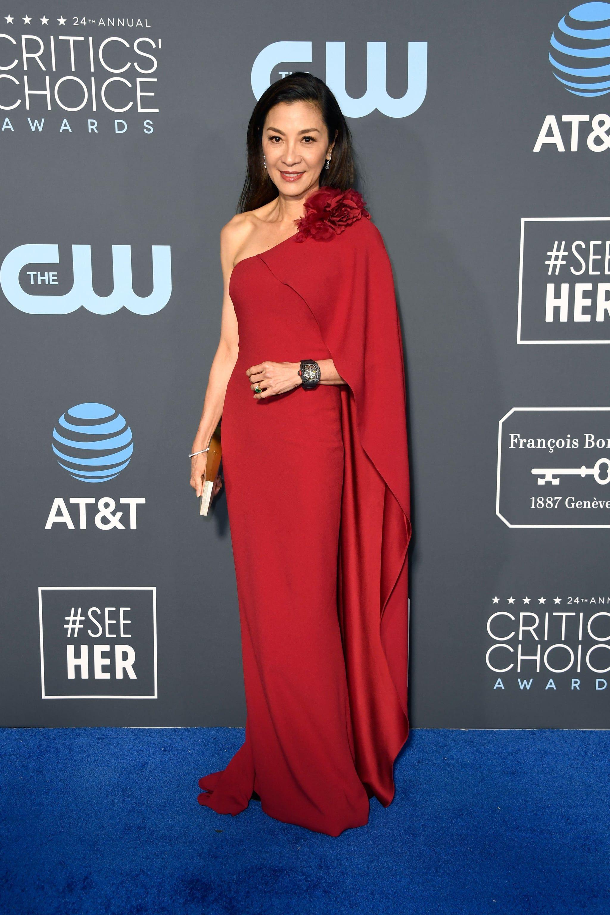 Michelle Yeoh At The 2019 Critics Choice Awards Fashion