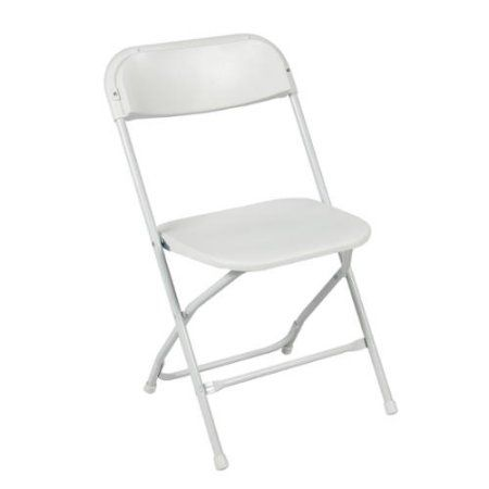 Incredible 5 Commercial White Plastic Folding Chairs Stackable Wedding Machost Co Dining Chair Design Ideas Machostcouk