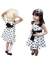 Amazon.com: 2014 Susenstore Clothing Polka Dot Girl Chiffon Sundress Dress for Kids: Clothing