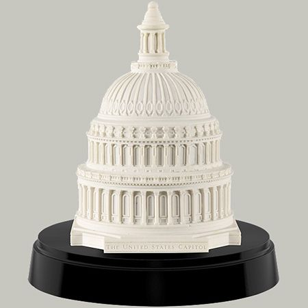 United States Capitol Marble Dome Paperweight | Decor - Knick ...