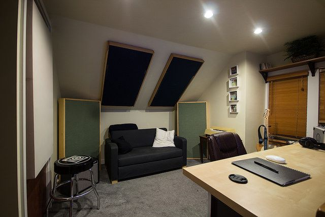 Let s be candid recording studio recording studio - Bedroom studio acoustic treatment ...