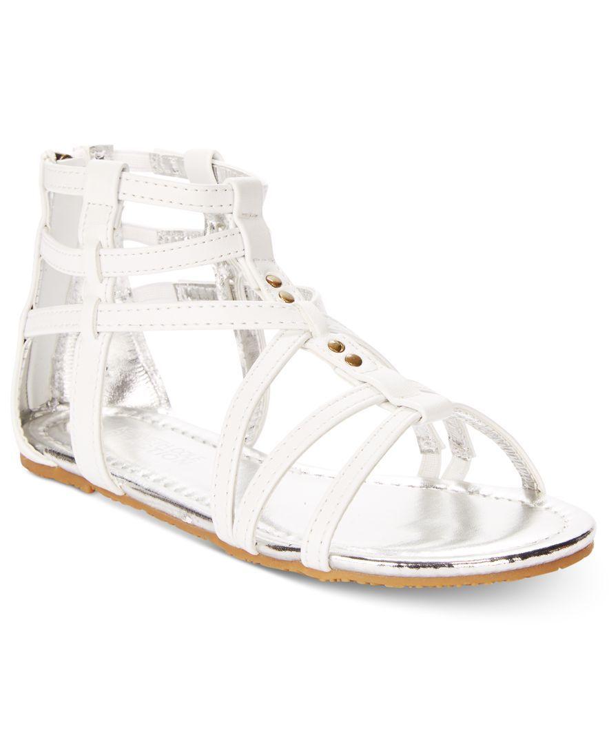 c2777e87733 Kenneth Cole Reaction Girls  or Little Girls  Daylo Gladiator Sandals
