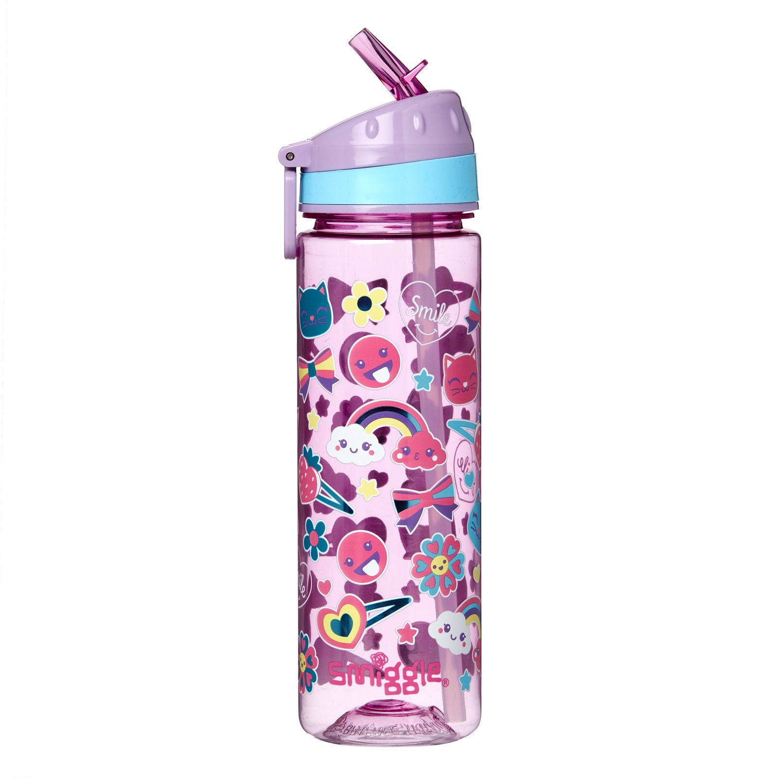 8bc2b389dbb Stylin' Drink Up Water Bottle | Smiggle | water bottle in 2019 ...