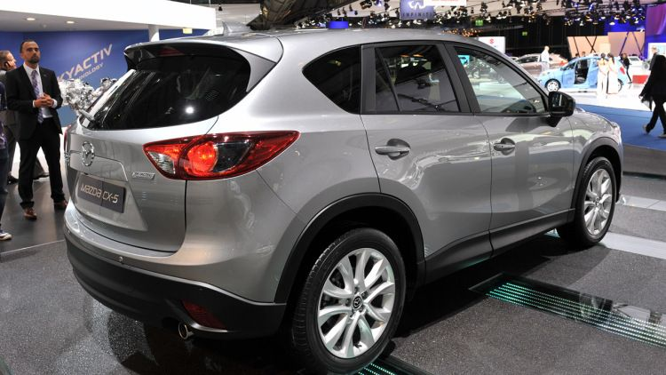 2013 Mazda CX-5 looks better without the camouflage | Wheels
