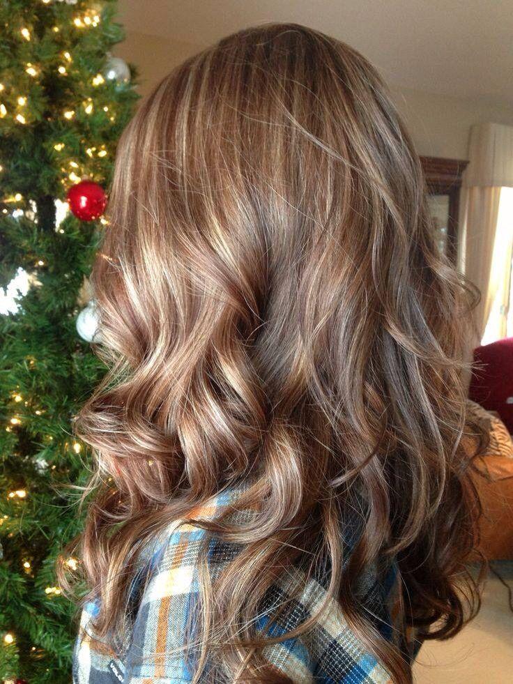 Caramel highlights | hair ideas | Pinterest