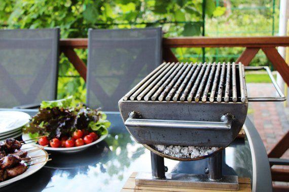 Charcoal Grill Anese Backyard Grilling Cast Iron Bbq Set Hibachi Sm