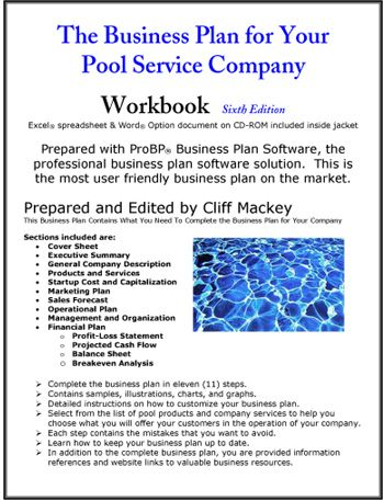 The Business Plan For Your Pool Service Company  Small Business