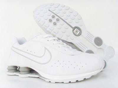 Nike Shox All White