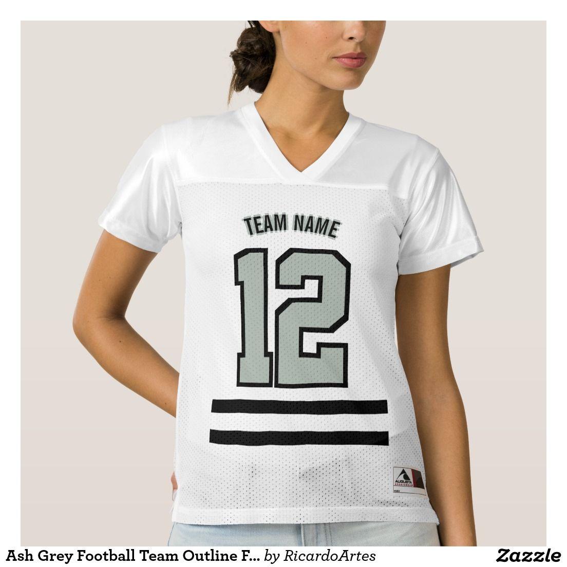 Ash Grey Football Team Outline Font