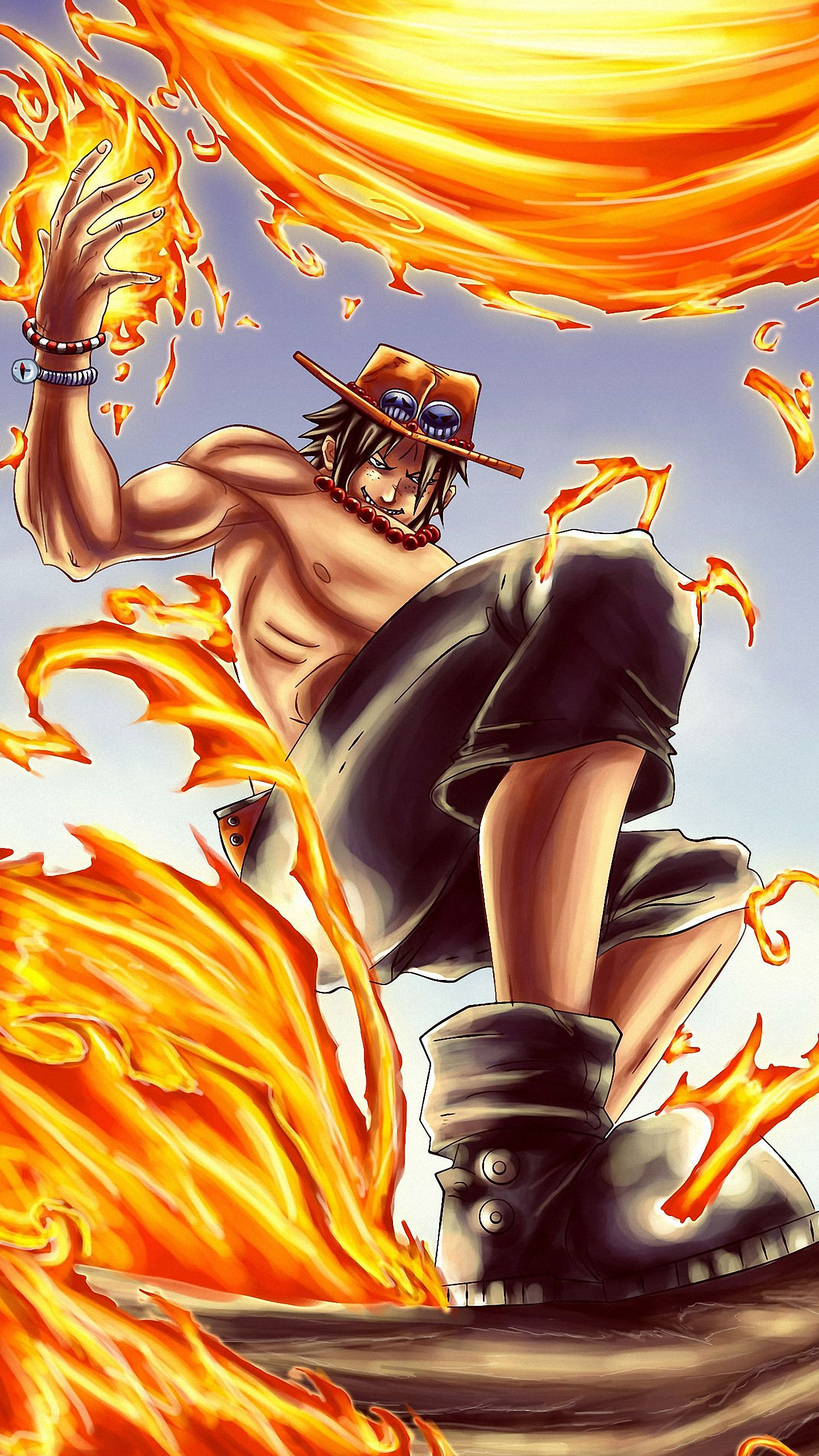 Portgas D Ace One Piece Iphone 6s Wallpapers Hd One Piece Wallpaper Iphone One Piece Ace One Piece Anime