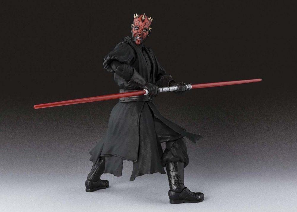 Bandai SH Figuarts Star Wars Episode I Darth Maul Action ...
