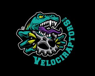 Logo Design Dinosaurs Stiker Logo Keren Desain