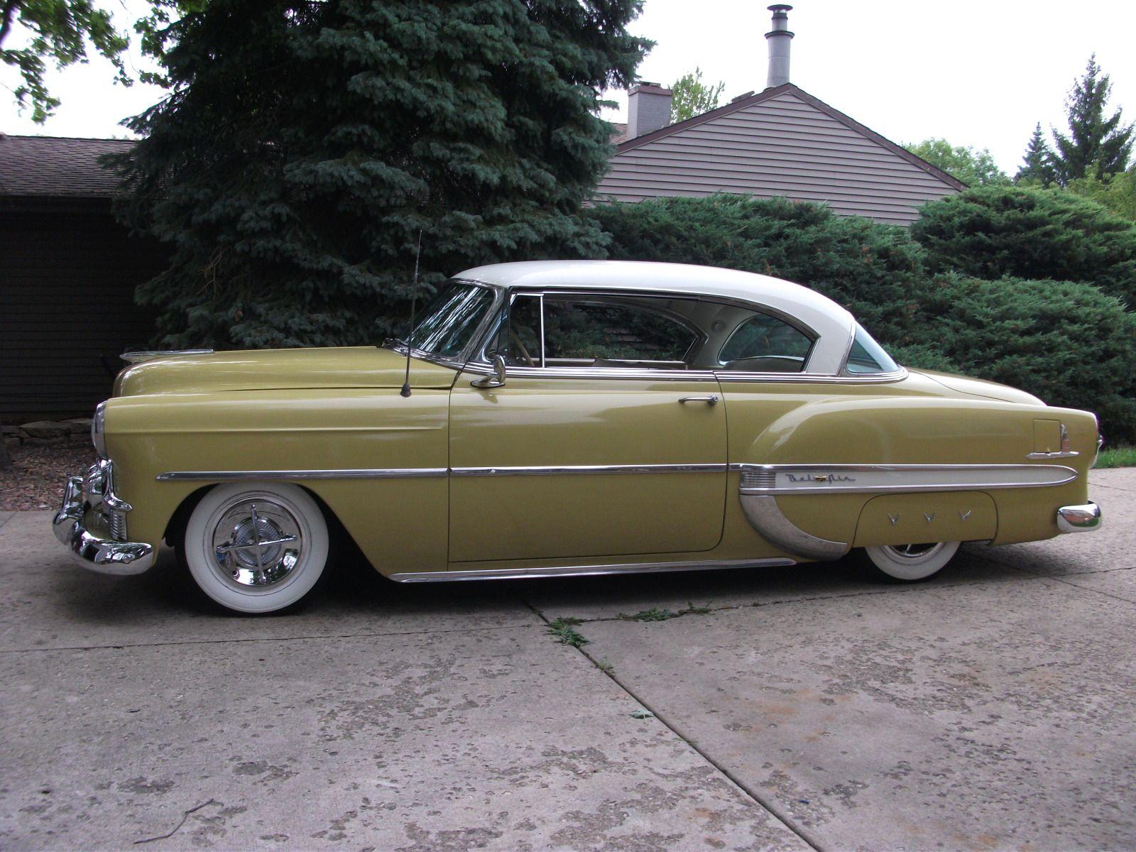1953 chevy 2 door hardtop