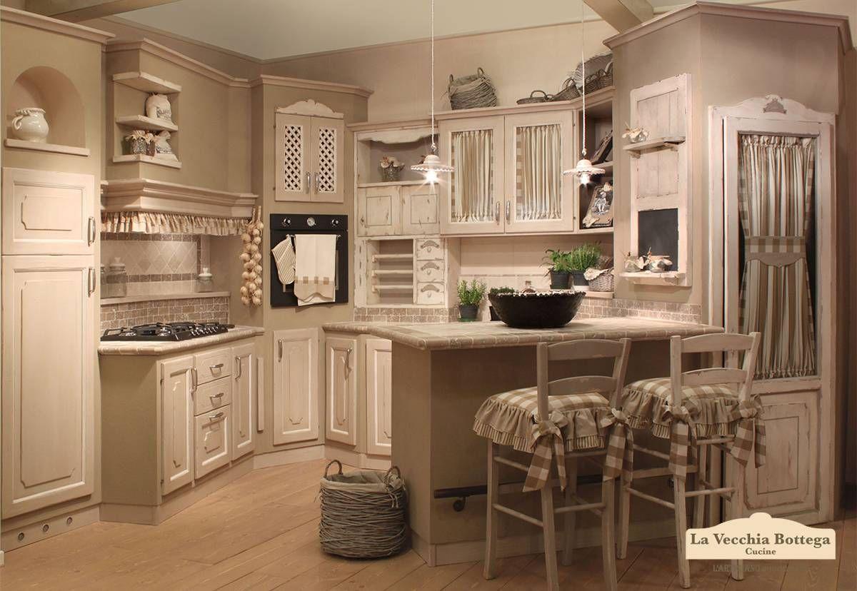 Cucina Shabby Chic cucina in muratura Etnea Cucina in