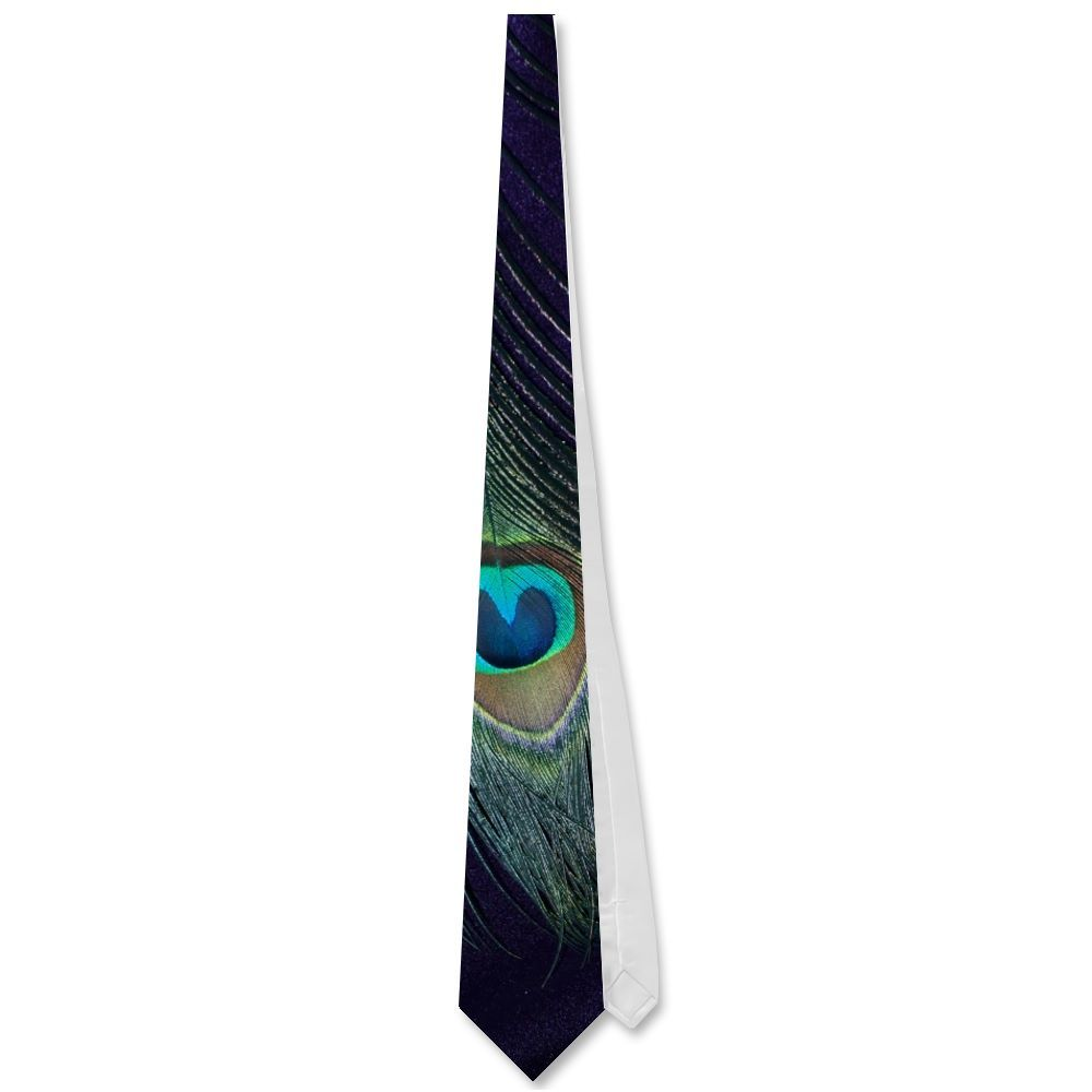 Awesome Purple Peacock Feather Neckwear from Zazzle.com
