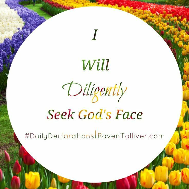 #DailyDeclarations I Will Diligently Seek God's Face!  ✡But without faith it is impossible to please Him, for he who comes to God must believe that He is, and that He is a rewarder of those who diligently seek Him.-Hebrews 11:6 #Blessed #Scriptures #SpeakLife #WordPower #Affirmation #Bible #BibleVerses #Britchadashah #inspiration