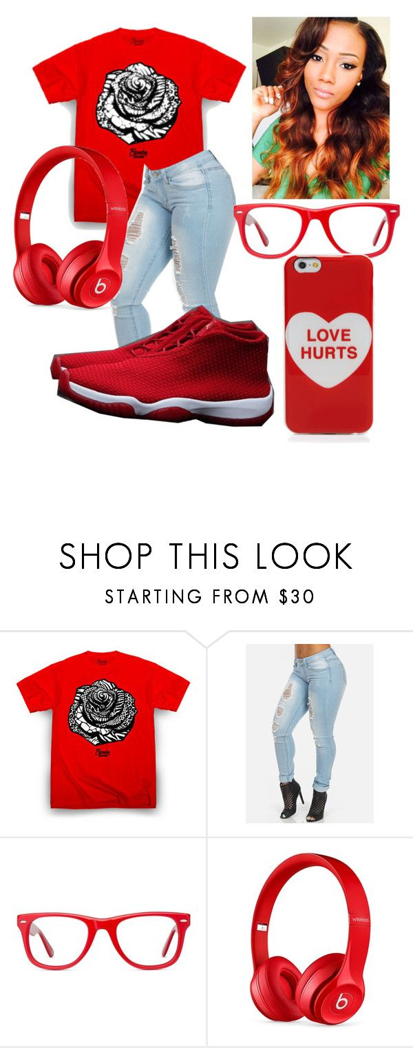 """Marri"" by badtothebones ❤ liked on Polyvore featuring beauty, Muse, Beats by Dr. Dre and Marc Jacobs"