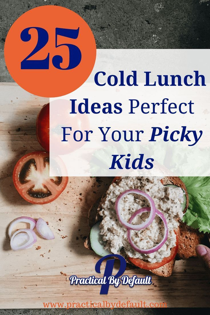 25 Cold Lunch Ideas Perfect For Your Picky Kids images