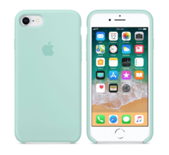 iPhone Silicone Case (Marine Green) in 2021   Silicone iphone ...
