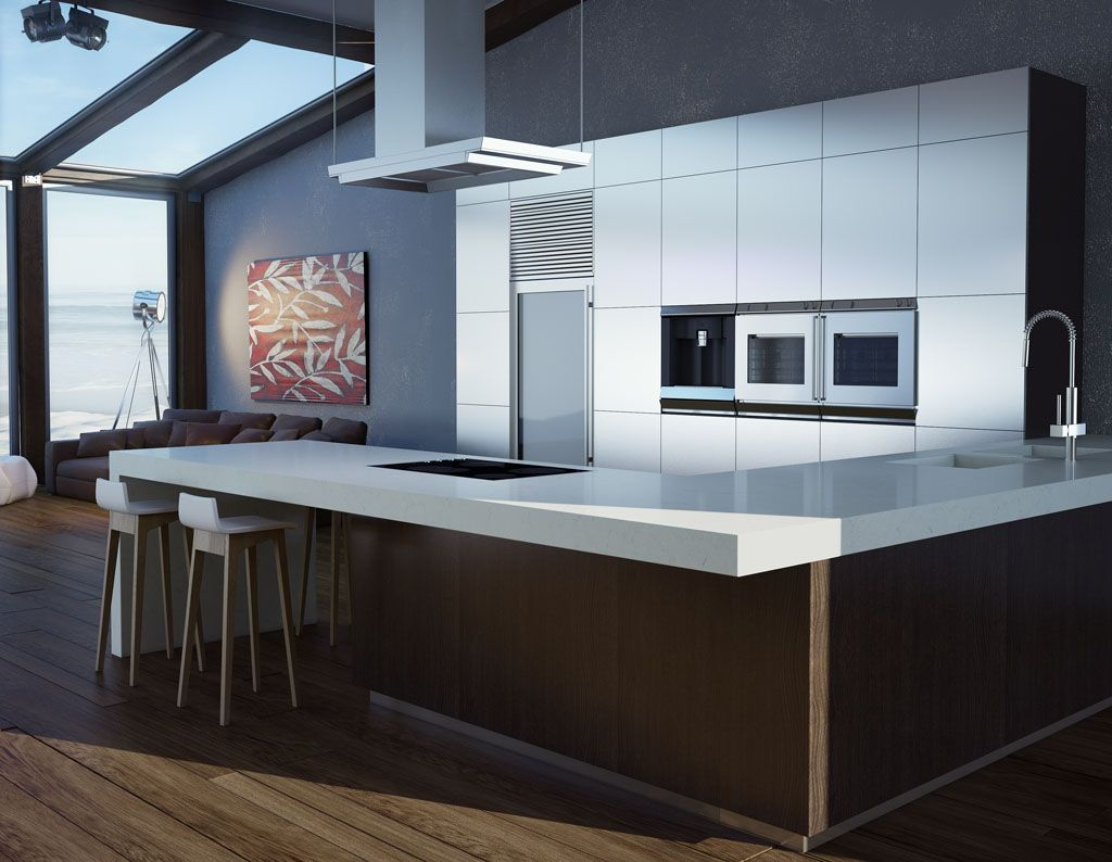 Caesarstone Classico - 5141 Frosty Carrina™ | Cute Cribs And Home ...
