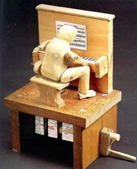 Mechanical Automaton Automaton By Rodney Frost From His