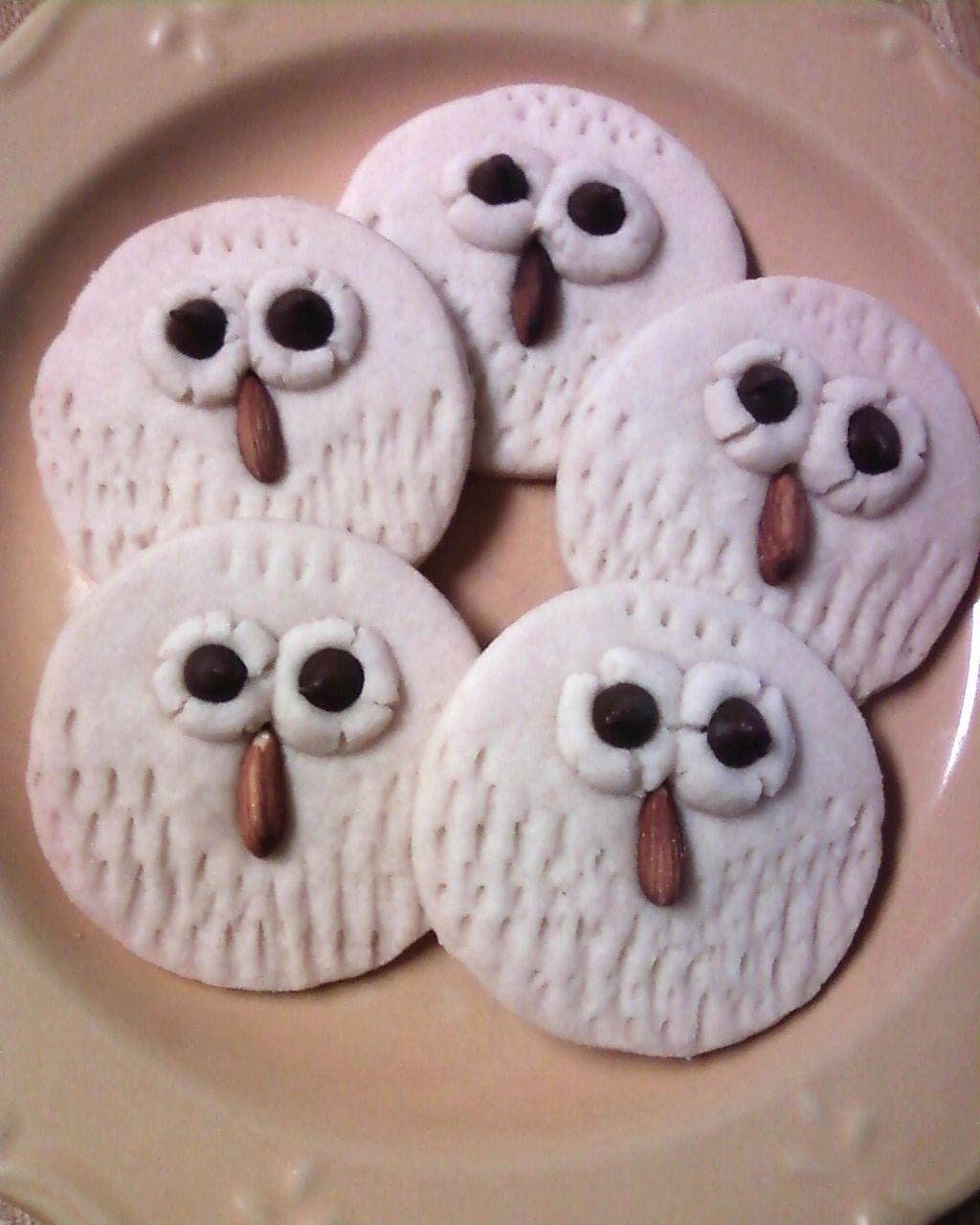 {PIN VICTORY} My favorite cookies! Owl Shortbread Cookies {Recipe}