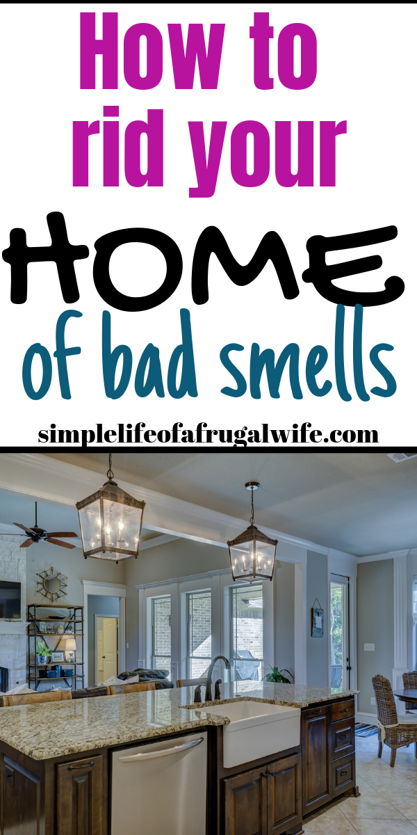 How To Get Bad Odors Out Of A House