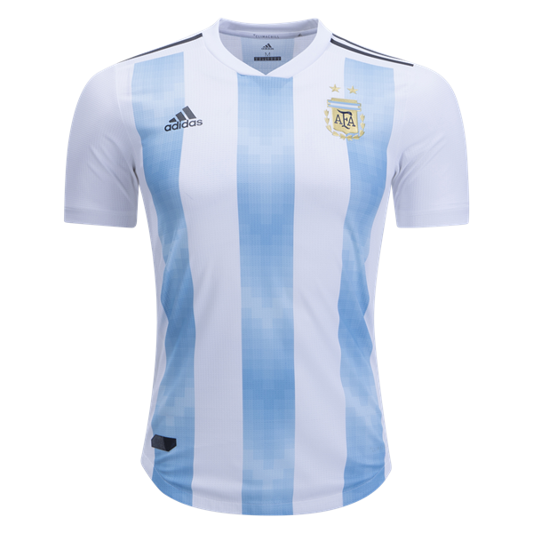 feadb1f77 adidas Argentina Authentic Home Jersey 2018 Argentina World Cup 2018