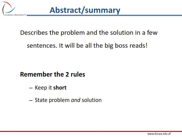 How To Write A Useful Report Easy Learning Easy Learning
