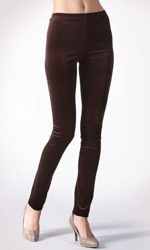 d1292a140405e Velvet Leggings | Tall Women's Clothes, Ladies Lounge & Yoga Clothing &  Apparel by Long Elegant Legs