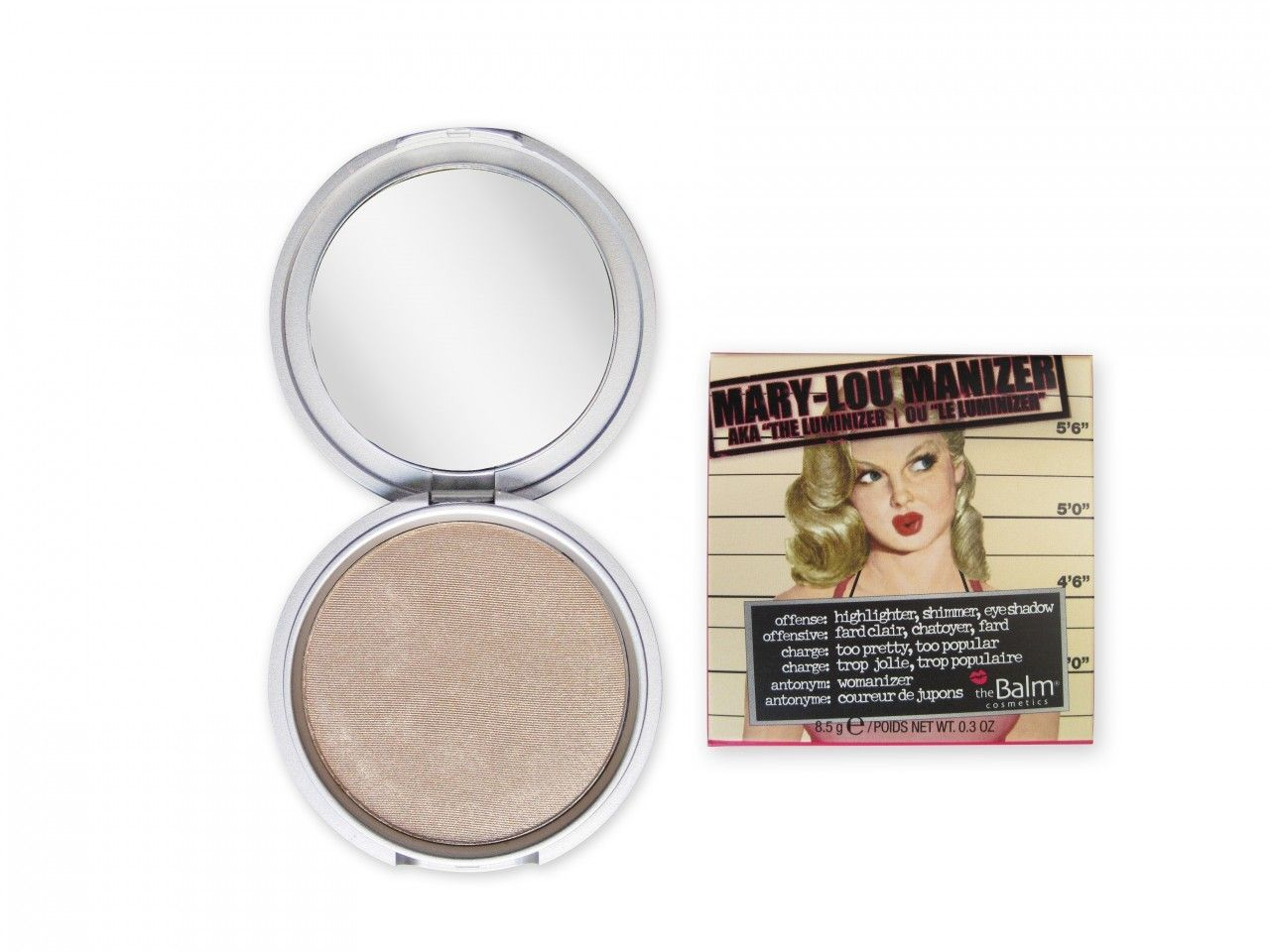 The Balm Mary-Lou Manizer (Bronzer & Shadow), Free Shipping at Nail Polish Canada