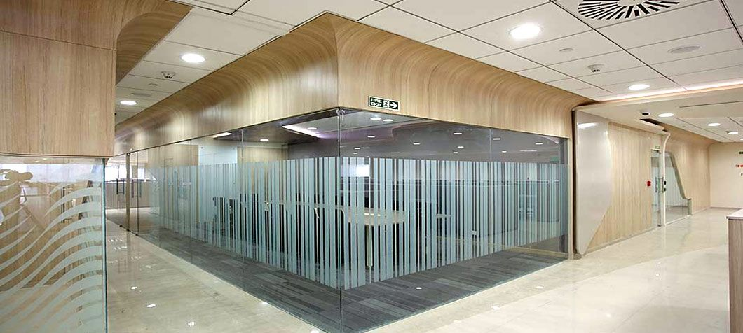 Glass Partition Walls With Aluminium Frame Glass Partition Wall