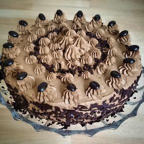 Mokkatorte mit gekochter Sahne #quickcookierecipes