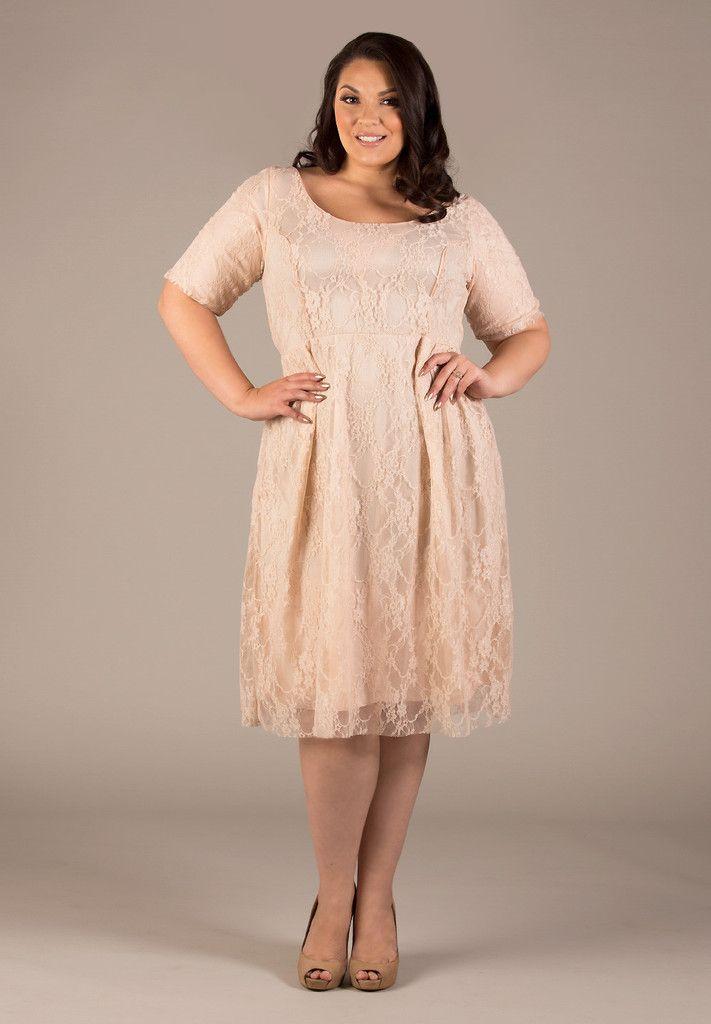 Kara Lace Dress Lace Dress Beige Lace Dresses Plus Size Dresses