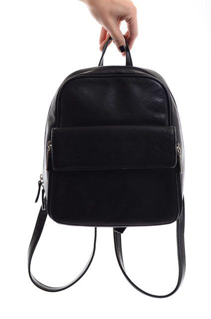29fd3ffaed19 Small Black Backpack Purse