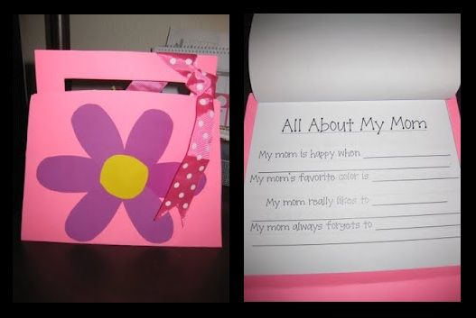 Mother's Day Craft/Poem